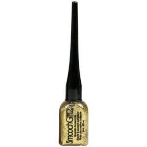Smooch™ Glitz Glitter Finishing Coat Goldrush: Metallic, Bottle, Glitter, 9 ml, (model CS70471), price per each