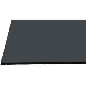"Alvin® Black on Black Presentation Boards 20"" x 30""; Color: Black/Gray; Finish: Matte; Format: Sheet; Quantity: 25 Sheets; Size: 20"" x 30""; Type: Presentation Board; (model 2030-25), price per 25 Sheets box"