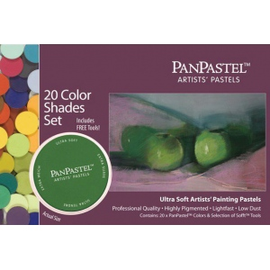 PanPastel® Ultra Soft Painting Pastel Shades Set; Color: Multi; Format: Pan; Type: Ultra Soft; (model PP30206), price per set