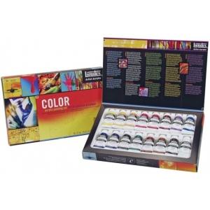 Liquitex® Professional Series Heavy Body Color Set; Color: Multi; Format: Tube; Size: 22 ml; Type: Acrylic; (model 101042), price per set