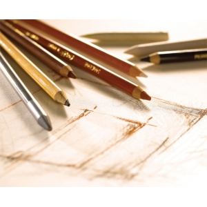 Conte™ Sketching and Drawing Pencils B; Degree: B; Format: Pencil; Type: Drawing; (model C2271), price per each