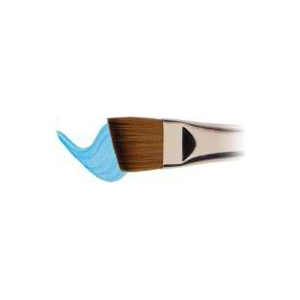 "Winsor & Newton™ Cotman™ Series 667 Angle Short Handle Brush 1/4""; Length: Short Handle; Material: Synthetic; Shape: Angular; Type: Watercolor; (model WN5367106), price per each"