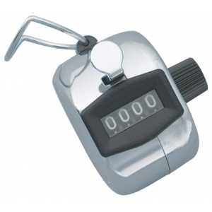 Alvin® Tally Counter; Color: Metallic; Type: General Purpose; (model T544), price per each