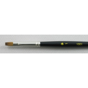 Kolinsky Sable Short Handle Bright Brush # 1 (Made in Russia)