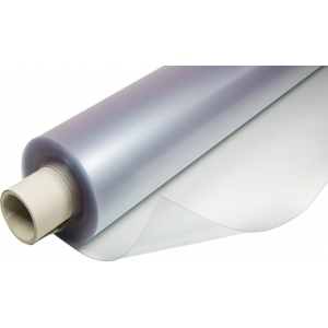 "Alvin® VYCO Translucent Board Cover 37 1/2"" x 10yd; Color: Clear, White/Ivory; Format: Roll; Material: Vinyl; Size: 37 1/2"" x 10 yd; (model VBC55/37), price per roll"