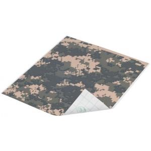 "Duck Tape® Digital Camo Tape (Sheet); Color: Multi; Format: Sheet; Size: 8 1/4"" x 10""; Type: Pattern; (model DT280093), price per sheet"