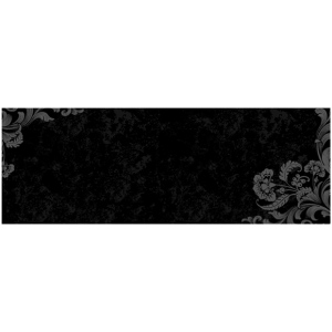 """Wallies® 9 x 25 Peel & Stick Chalkboard Sheet Frilly; Size: 9"""" x 25""""; Type: Chalkboard; (model WALL16017), price per each"""