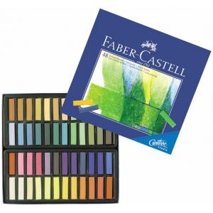 Faber-Castell® Creative Studio Soft Pastel 48-Color Set; Color: Multi; Format: Stick; Type: Soft; (model FC128248), price per set