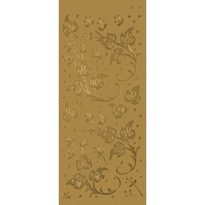 "Blue Hills Studio™ DesignLines™ Outline Stickers Gold #9; Color: Metallic; Size: 4"" x 9""; Type: Outline; (model BHS-DL009), price per pack"