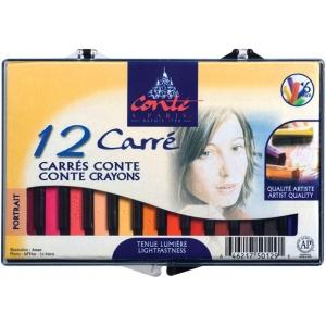 Conte™ Crayon 12-Color Portrait Set: Multi, Stick, (model C50129), price per set