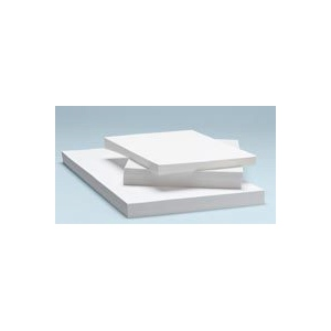 "Alvin® Heavyweight Opaque Plotter Bond 100-Sheet Pack 17 x 22: White/Ivory, Sheet, 100 Sheets, 17"" x 22"", (model 5811-7), price per 100 Sheets"