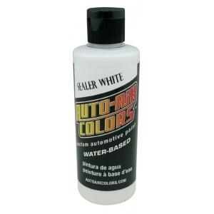 Auto-Air Colors™ Sealer White 4oz: White/Ivory, Bottle, 4 oz, Airbrush, (model 4001-04), price per each