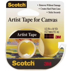 "Scotch® Artist Tape for Canvas: Artist, 3/4"", (model FA2010), price per roll"