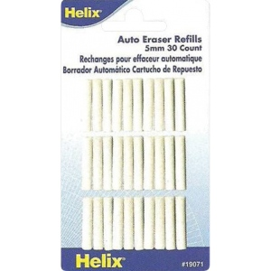 Helix® Auto Eraser Refills; Refill: Yes; (model H19071), price per pack