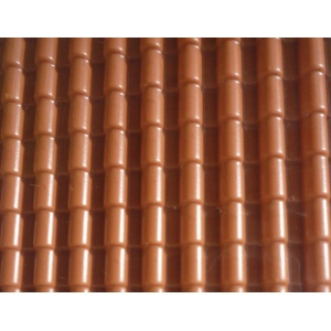 Wee Scapes™ Architectural Model Spanish Tile Brick Styrene Sheets; Color: Brown; Material: Plastic; Type: Paintable; (model WS00388), price per pack