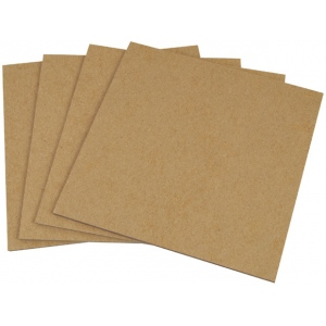 "Alvin® Backing Mount Chipboard .080""; Color: Brown; Format: Sheet; Quantity: 20 Sheets; Size: 32"" x 40""; Texture: Smooth; Type: Backing Mount Chipboard; (model BM3240-8), price per 20 Sheets box"