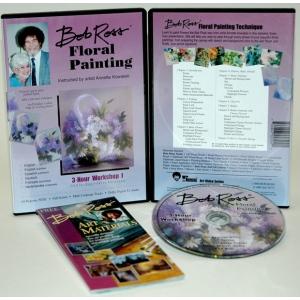 Bob Ross DVD Floral Painting Workshop I: 3 Hour