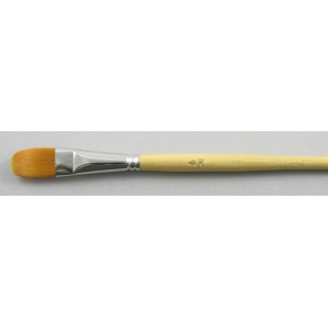 Synthetic Hair 3103: Filbert Size 20 Brush