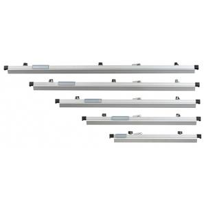 "Alvin® 24"" Blueprint Clamp; Capacity: 100 Prints; Color: Metallic; Material: Aluminum; Size: 24""; (model BPC24), price per box"