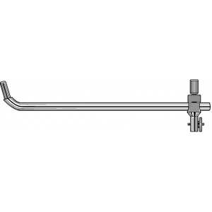 Alvin® Bow Beam Extension Bar; Replacement Part: Yes; Type: Compass/Divider; (model R18), price per each