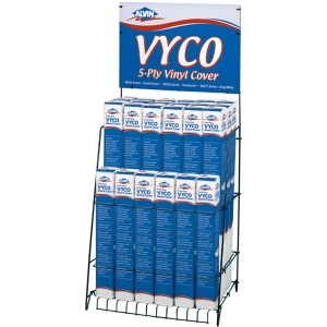 Alvin® VYCO Empty Display Rack: Rack, (model VBC-RACK), price per each