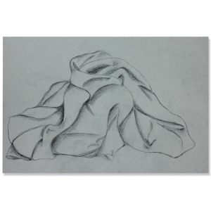 "Pacon® 18"" x 24"" Gray Bogus Drawing Paper 250-Sheet Pack: Black/Gray, Sheet, 250 Sheets, 18"" x 24"", Charcoal, (model PAC104091), price per 250 Sheets"