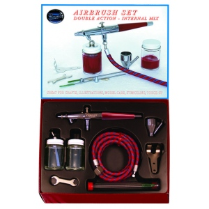 Paasche Model VL Airbrush-Complete Set