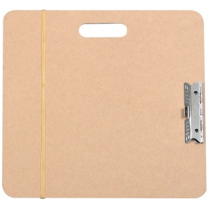 "Heritage Arts™ Artist Sketch Board 18"" x 19""; Color: Brown; Size: 18"" x 19""; Top Material: Masonite; Type: Drawing Board; (model SB1819), price per each"