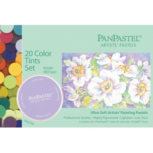 PanPastel® Ultra Soft Painting Pastel Tints Set; Color: Multi; Format: Pan; Type: Ultra Soft; (model PP30204), price per set