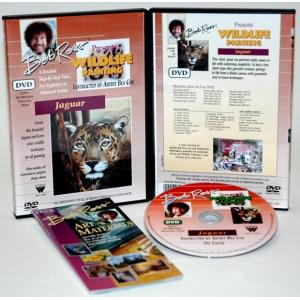 Bob Ross DVD Wildlife Painting: Jaguar, 40 Minute