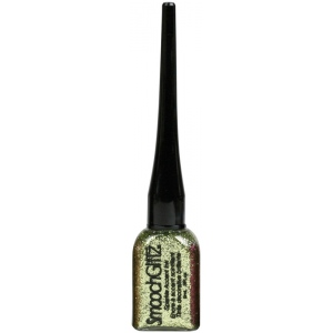 Smooch™ Glitz Glitter Finishing Coat Lime Twist: Green, Bottle, Glitter, 9 ml, (model CS70473), price per each