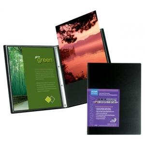 "Itoya® Art Profolio® Advantage 13"" x 19"" Presentation/Display Book: Black/Gray, Polypropylene, 24 Pages, 13"" x 19"", (model AD2413), price per each"