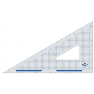 "Alvin® ; Angle: 30/60; Color: Clear; Material: Acrylic; Size: 14""; Type: Triangle; (model ACT360-14), price per each"