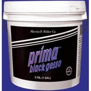 Prima Black Gesso Gallon