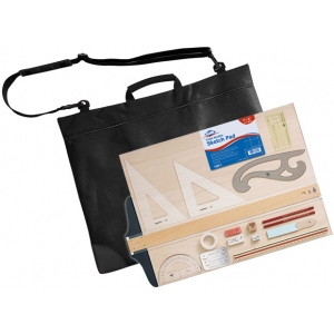 Alvin® CP900 Drawing Outfit; Type: Drawing and Geometry Set; (model CP900), price per each