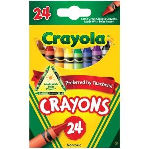 Crayola® Original Crayons 24-Color; Color: Multi; (model 52-3024), price per pack