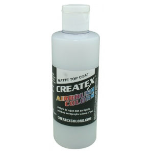 Createx™ Airbrush Top Coat Matte 4oz; Format: Bottle; Size: 4 oz; Type: Airbrush; (model 5603-04), price per each