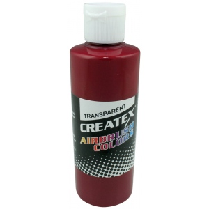 Createx™ Airbrush Paint 2oz Burgundy; Color: Red/Pink; Format: Bottle; Size: 2 oz; Type: Airbrush; (model 5123-02), price per each