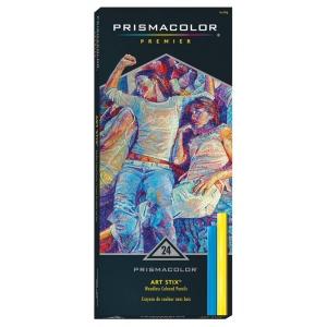 Prismacolor® Art Stix® 24-Color Set; Color: Multi; Format: Stick; Type: Soft; (model AS1953), price per set