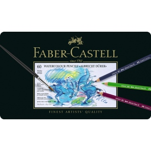 Faber-Castell Albrecht Durer Artists' Watercolour Pencil: Tin of 60