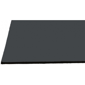 "Alvin® Black on Black Presentation Boards 30"" x 40""; Color: Black/Gray; Finish: Matte; Format: Sheet; Quantity: 25 Sheets; Size: 30"" x 40""; Type: Photography Presentation Board; (model PB3040-25), price per 25 Sheets box"