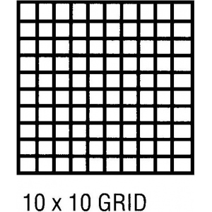 "Clearprint® 1000H Series 36 x 50yd Vellum Roll 10x10 Grid: Roll, 10"" x 10"", 36"" x 50 yd, 16 lb, (model CP10103152), price per roll"