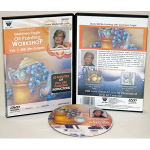 Gretchen Cagle DVD: Still Life Oil Painting, Volume I (1 Hour)