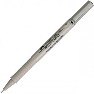 Faber-Castell Ecco Pigment Fibre-tip Pen, Black: 0.6 mm