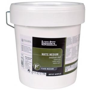 Liquitex® Matte Medium 1 gallon; Finish: Matte; Size: 128 oz; (model 5136), price per each