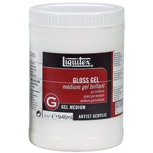 Liquitex® Gloss Gel Medium 32oz; Finish: Gloss; Size: 32 oz; Type: Gel; (model 5732), price per each