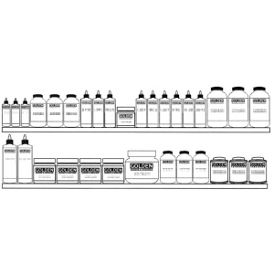 Golden Mediums, Grounds and Varnishes Display Assortment