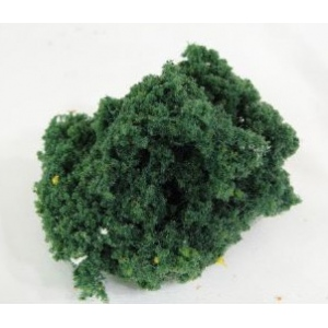 Wee Scapes™ Architectural Model Medium Green Bush Foliage Cluster; Color: Green; Coverage: 150 sq in; Material: Poly Fiber, Turf; Type: Foliage; (model WS00342), price per each