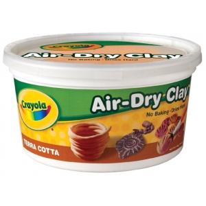 Crayola® Air-Dry Clay 2.5lb Terra Cotta: Brown, 2 1/2 lb, 2.5 lb, Air Dry, Craft, (model 57-5064), price per each