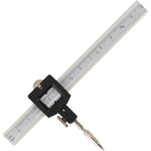 "Alvin® Graduated Beam Compass; Circle Diameter Max: 48""; Size: 13""; Type: Compass/Divider; (model 961X), price per each"